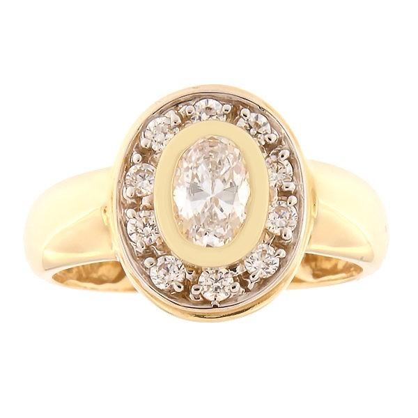 Kullast sõrmus tsirkoonidega Kood: 116pt