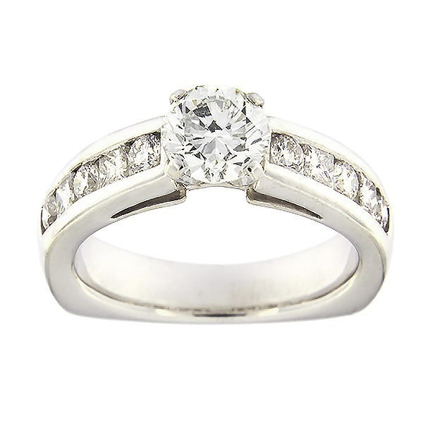 Kullast sõrmus teemantidega 1,84 ct. Kood: 378ad