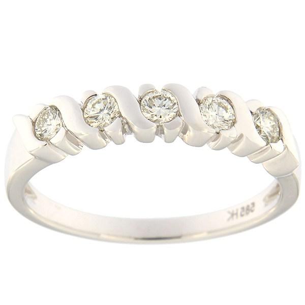 Kullast sõrmus teemantidega 0,35 ct. Kood: 38ha-ra2503