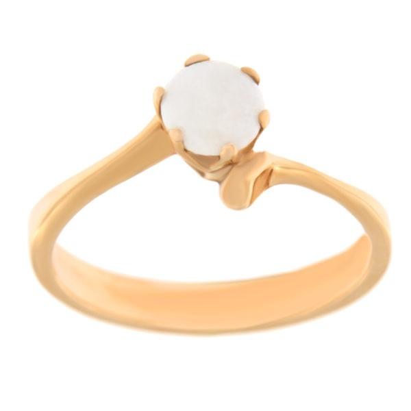 Kullast sõrmus opaaliga Kood: 115pk, 49pk