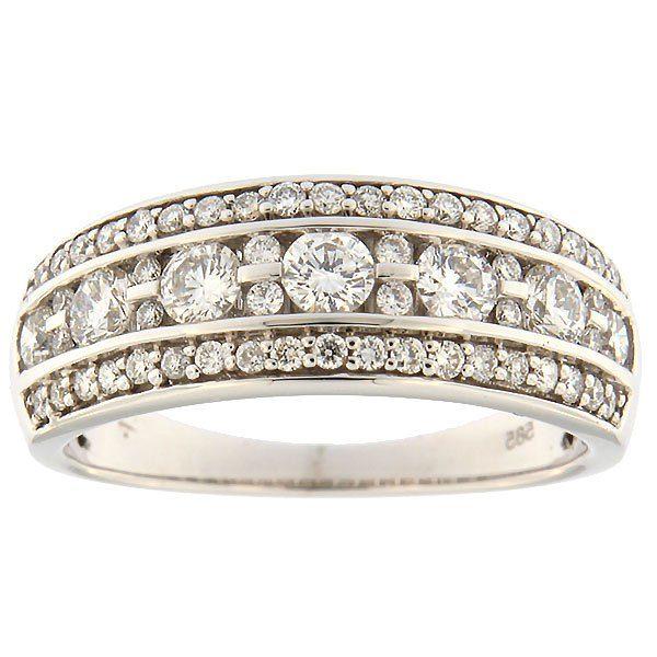 Kullast sõrmus teemantidega 0,74 ct. Kood: 66ab