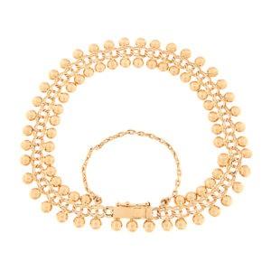 Gold bracelet Code: 66im