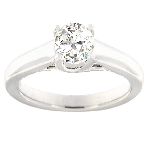 Gold ring with diamonds 0,70 ct. Code: 6ax