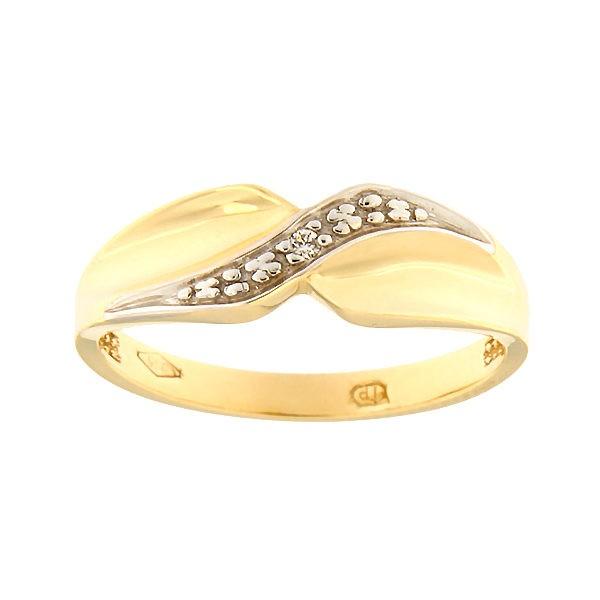 Kullast sõrmus tsirkoonidega Kood: 78pt