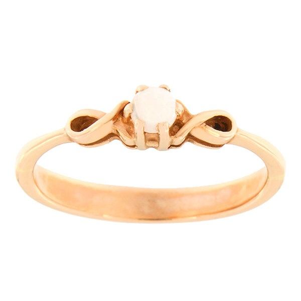 Gold ring with opal Code: 89pk