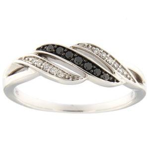 Kullast sõrmus teemantidega 0,10 ct. Kood: 91af