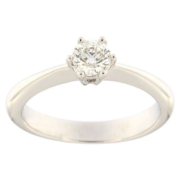 Gold ring with diamond 0,38 ct. Code: 97af