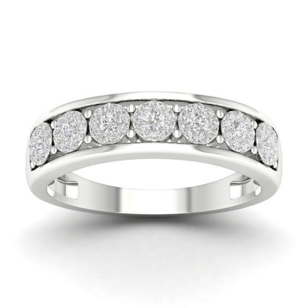 Kullast sõrmus teemantidega 0,30 ct. Kood: 25hc,1ha