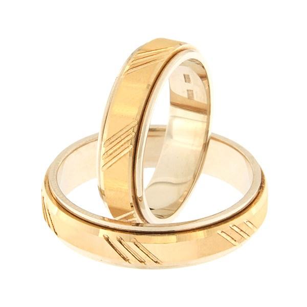 Kullast abielusõrmus Kood: rn0138-5d-pk-av