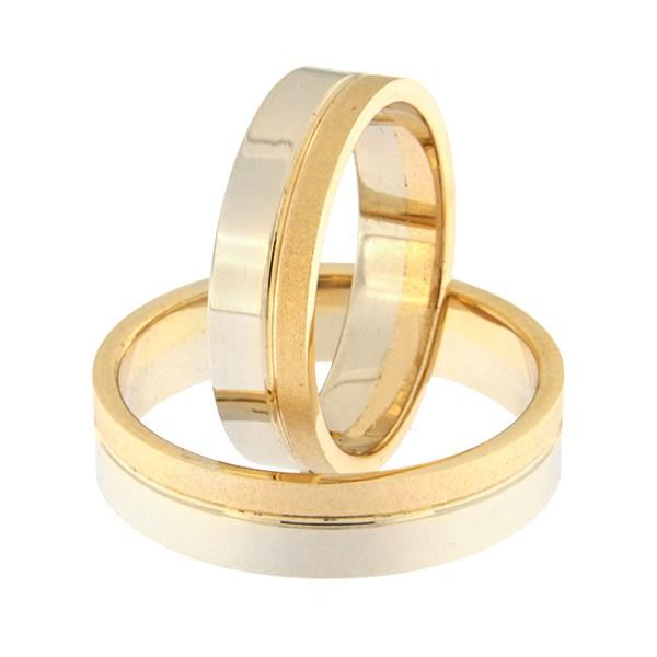 Kullast abielusõrmus Kood: rn0152-5-1/3km2-2/3vl