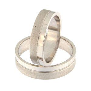 Kullast abielusõrmus Kood: rn0152-5-1/3vl-2/3vm2