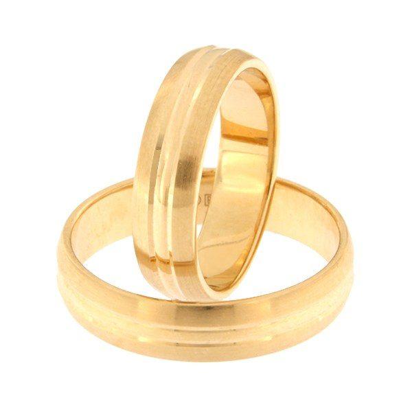 Kullast abielusõrmus Kood: rn0154-5-km3