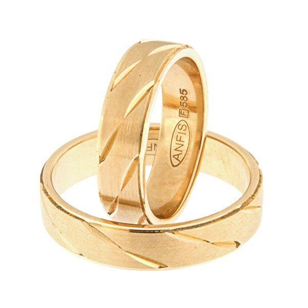 Kullast abielusõrmus Kood: rn0156-5-km3