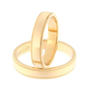 Kullast abielusõrmus Kood: rn0171-4-kl