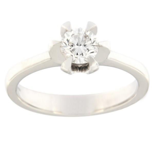 Kullast sõrmus teemantidega 0,50 ct. Kood: acredo3