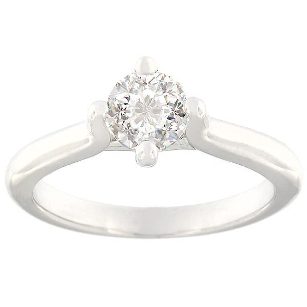 Kullast sõrmus teemantidega 0,70 ct. Kood: c7825uni