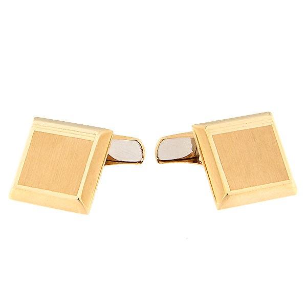 Gold cufflinks Code: cl0110tl