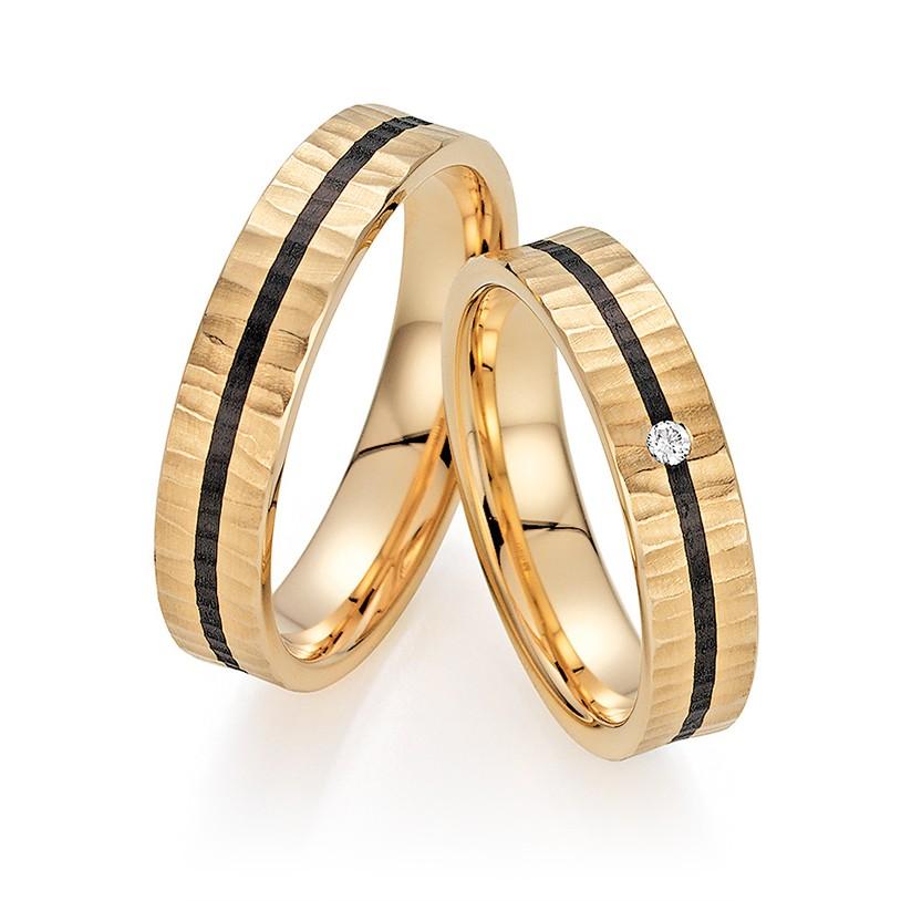 Bayer abielusõrmused - Karboon - MATIGOLD