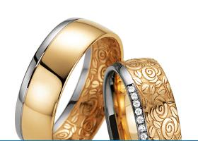 """Fischer abielusõrmused - Kollektsioon """"Flora"""""""