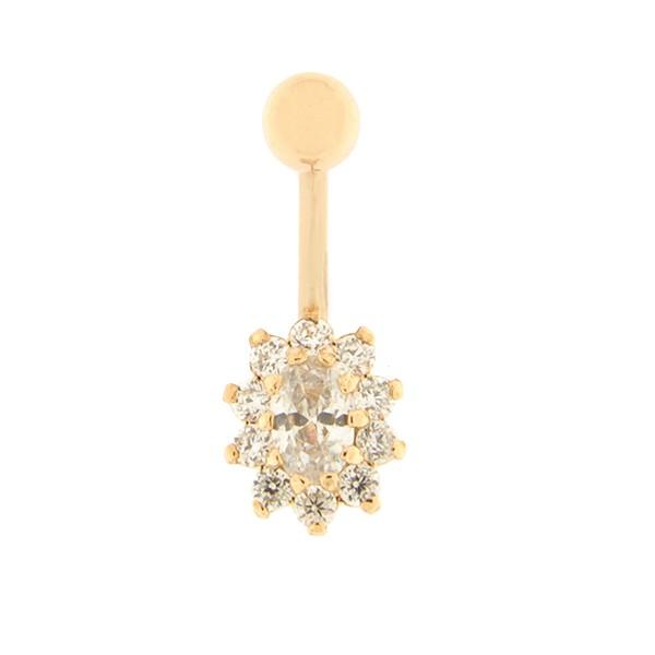 Kullast nabarõngas tsirkooniga Kood: pn0146-valge