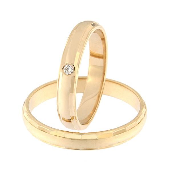 Kullast abielusõrmus Kood: rn0102-3,5-l-1k