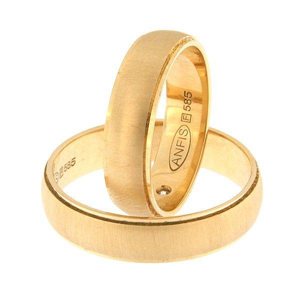 Kullast abielusõrmus Kood: rn0117-5-km7
