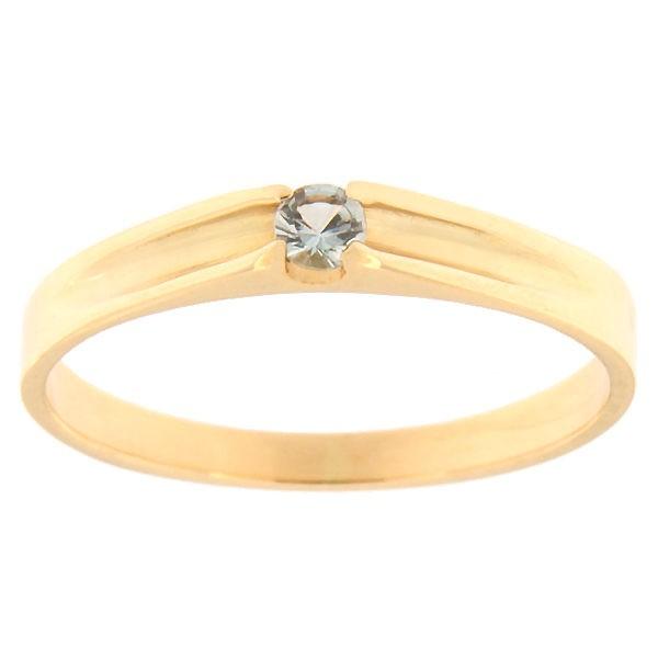 Kullast sõrmus topaasiga Kood: rn0121-topaas