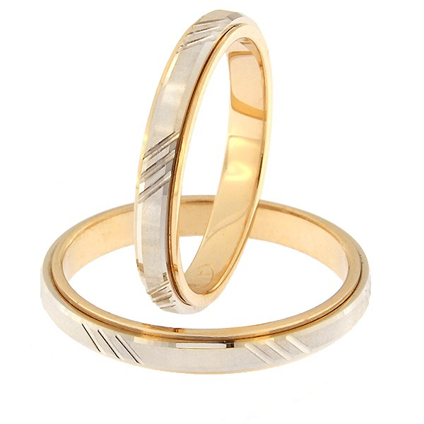 Kullast abielusõrmus Kood: rn0138-3d-pv-ak