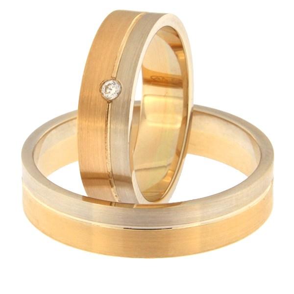 Kullast abielusõrmus Kood: rn0152-5-1/3vm1-2/3km1-1k