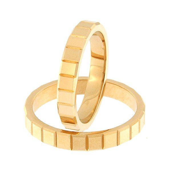 Kullast abielusõrmus Kood: rn0157-3,5