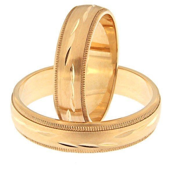 Kullast abielusõrmus Kood: rn0159-5-km3
