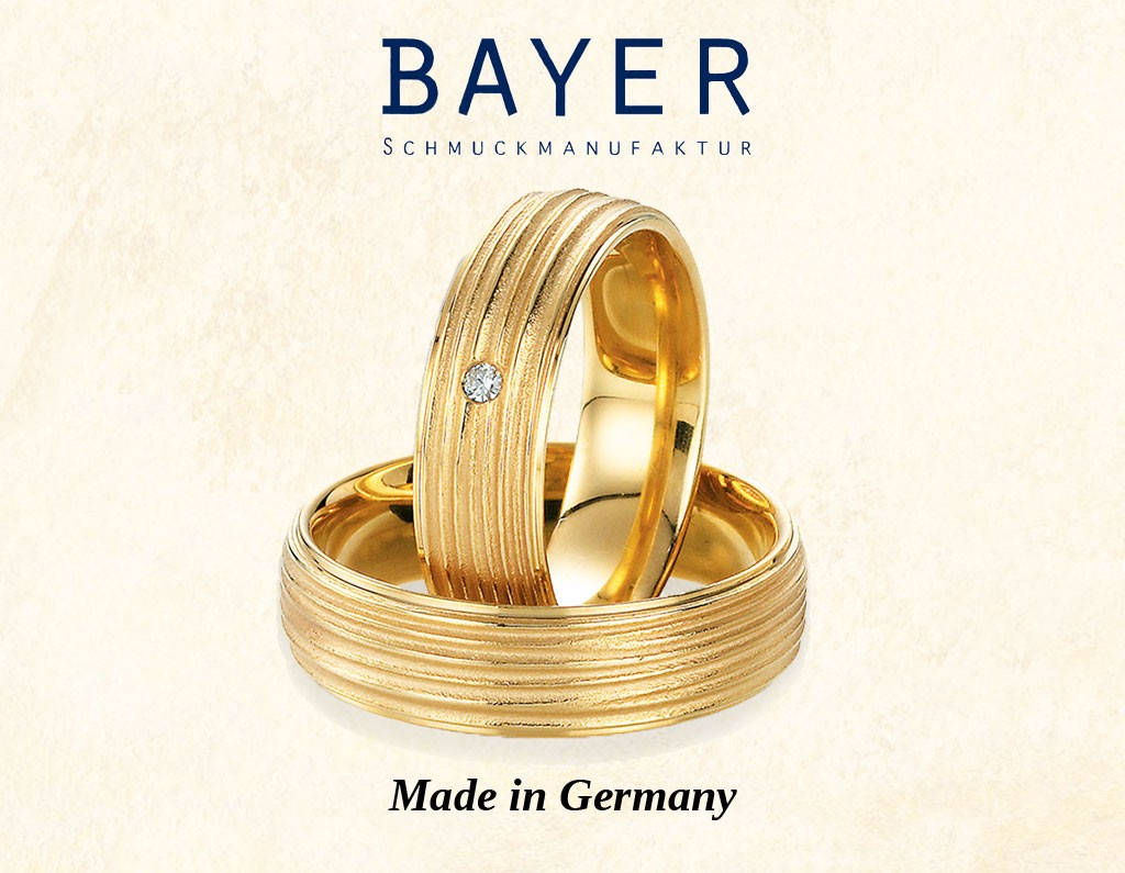 Bayer abielusõrmused - MATIGOLD - Mati Kullaäri