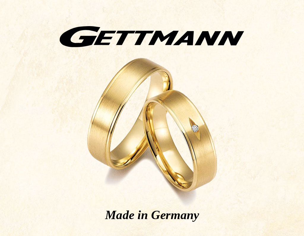 Gettmann abielusõrmused - MATIGOLD - Mati Kullaäri