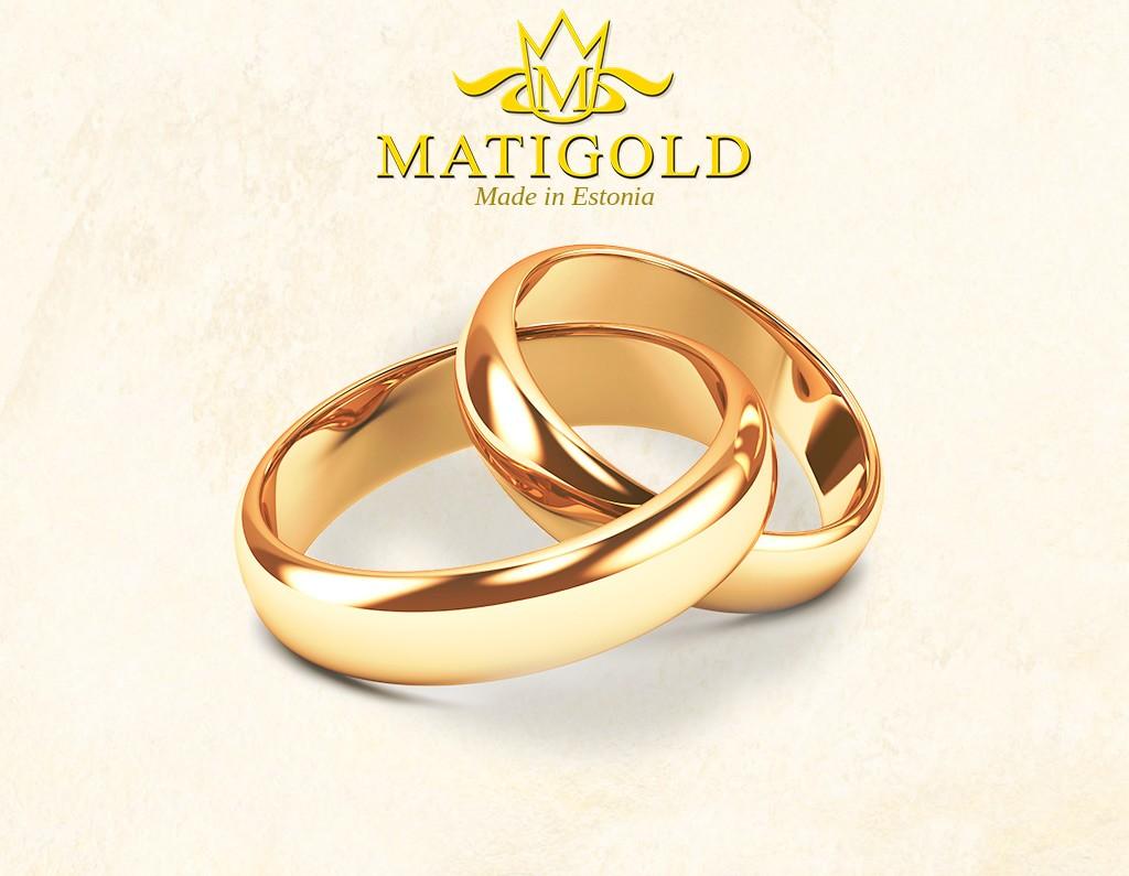 MATIGOLD abielusõrmused - Mati Kullaäri