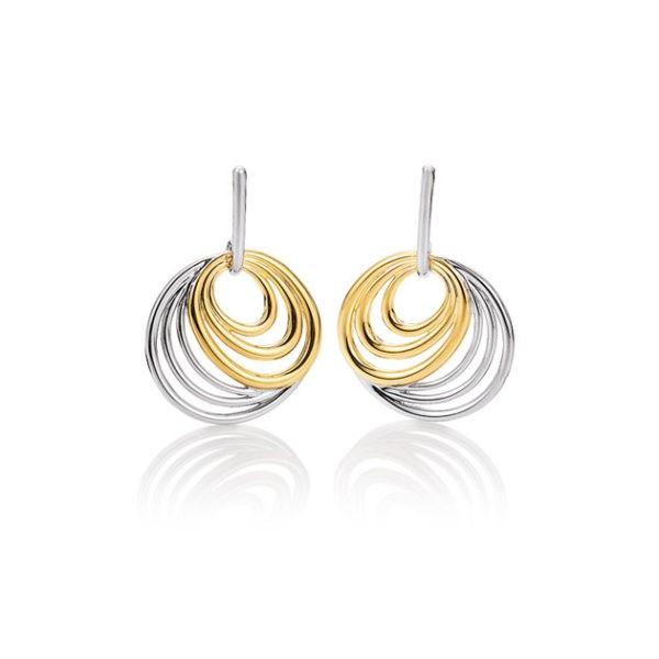 Silver earrings Code: 14026000