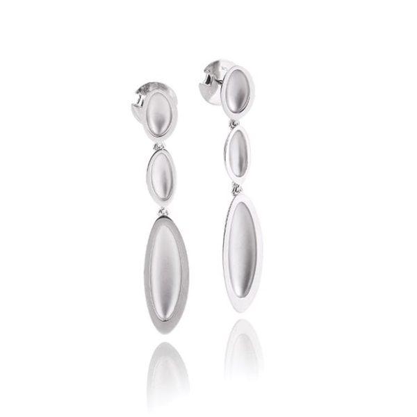 Silver earrings Code: 14026120