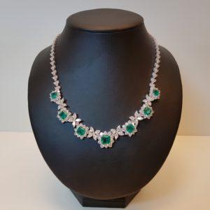 Silver necklace Code: CL5009 RO/DG
