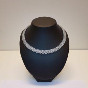Silver necklace Code: CL035 RO/DD