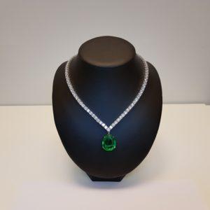 Silver necklace Code: CL299 RO/DG