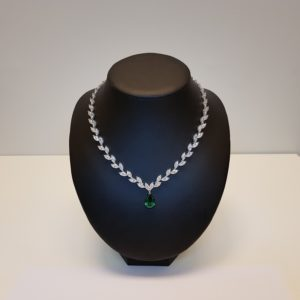 Silver necklace Code: CL5064 RO/DG