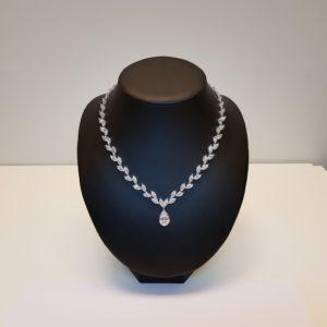 Silver necklace Code: CL5064/RO/DD