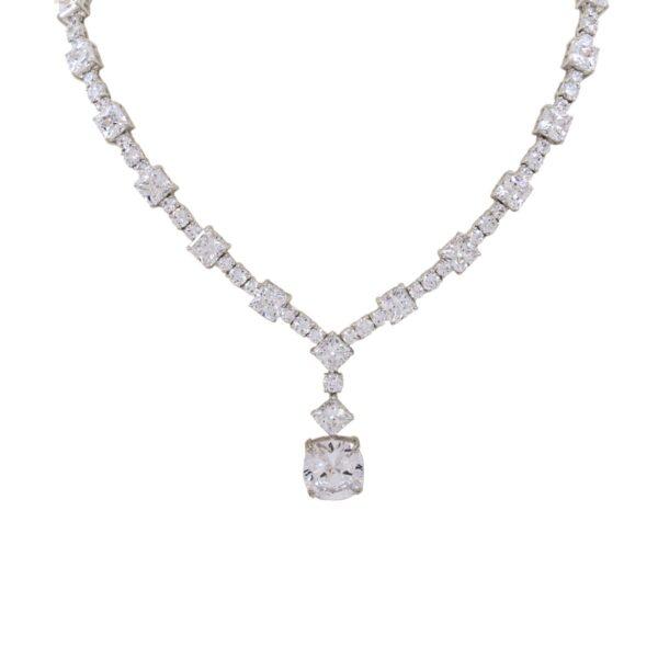 Silver necklace Code: CL314 RO/DD