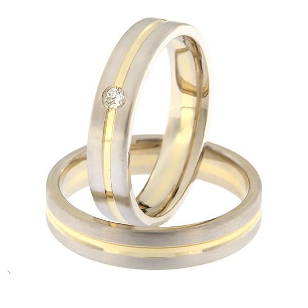 Kullast abielusõrmus Kood: A411-1K