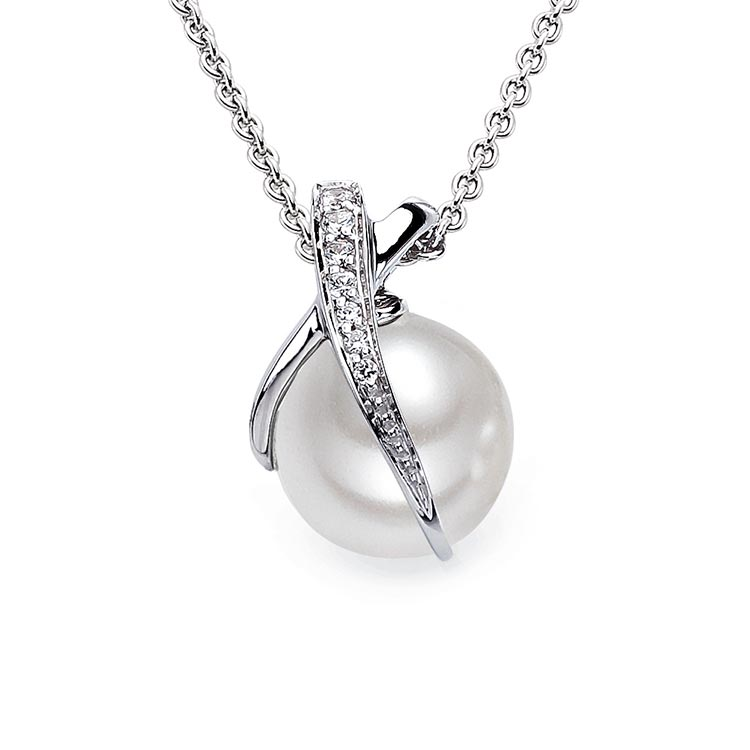 Viventy silver pendant with pearl Code: 768222