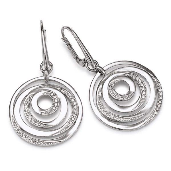 Viventy silver earrings Code: 777524