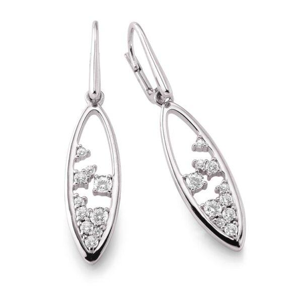 Viventy silver earrings Code: 780124