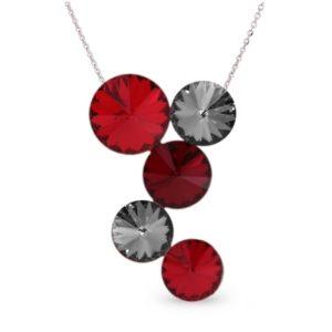 Hõbedast ripats Swarovski® kristallidega Kood: NK1122LSISN