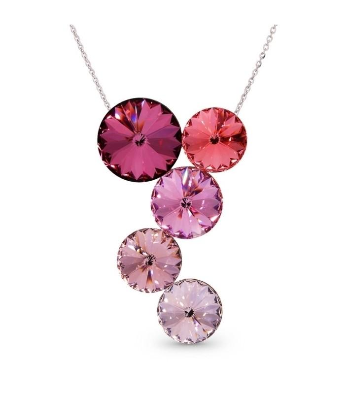 Hõbedast ripats Swarovski® kristallidega Kood: NK1122R