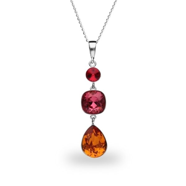 Silver pendant with Swarovski® crystals Code: NT43201LSITG1