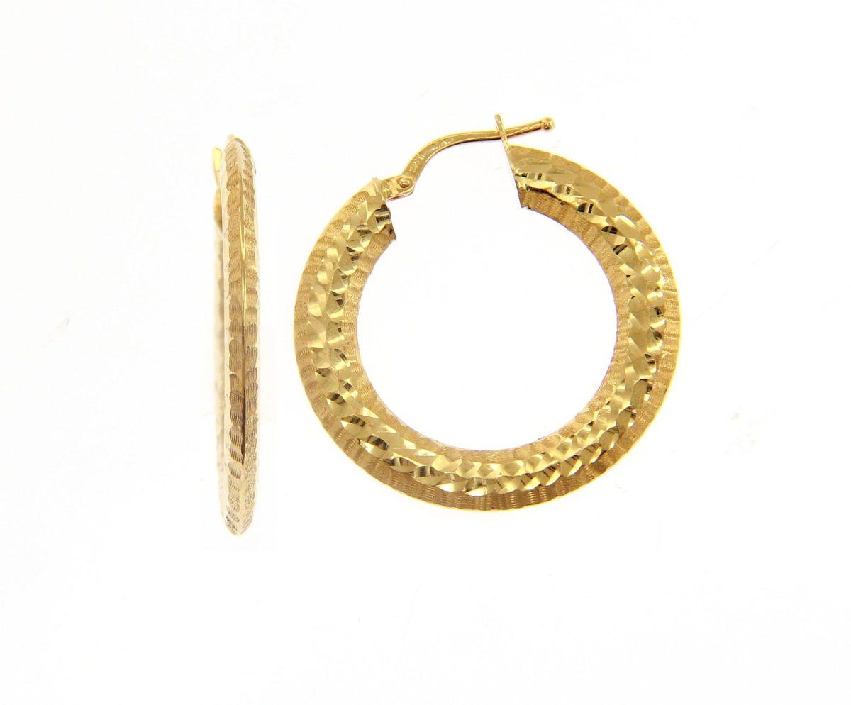 Kullast kõrvarõngad Kood: 201231